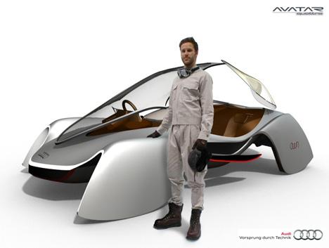 Audi Avatar Concept by Edwin Conan (Yi Yuan)