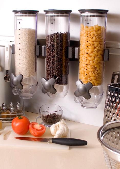 SmartSpace Dry Food Dispenser by Zervo