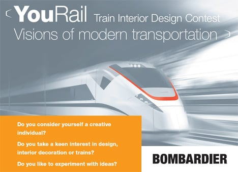 YouRail Design Contest – Visions of modern transportation by Bombardier