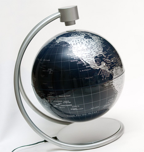 Levitating Globe by Cram