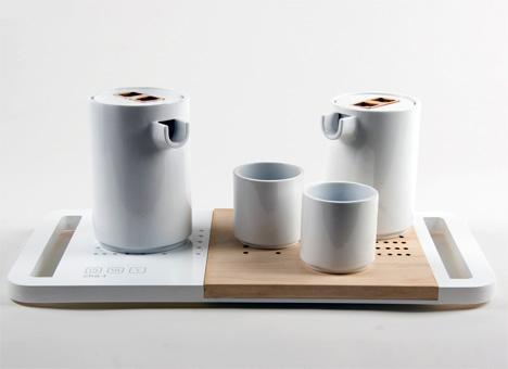 cha.t Chinese Tea Set by Ning Ning Li