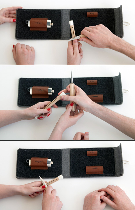 Presence in Absence DIY USB Carving Set by Colm Keller