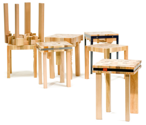 Stump Furniture by Ubico Design Studio