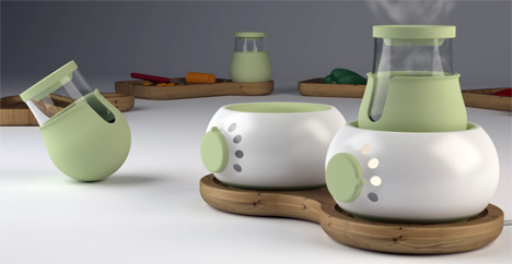 Wedo Safe Table Top Cooking Appliance For Children by Jonny Freeman