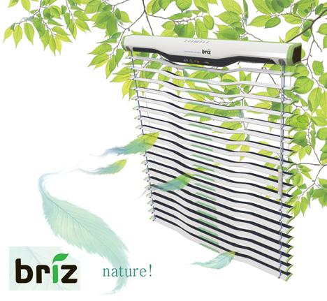 Briz Solar Powered Air-conditioner Blinds by Nari Kim & Pullip Lim