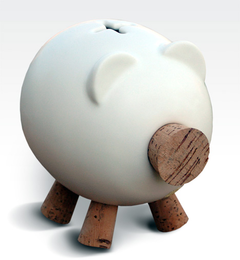Gorrinucha Ceramic Piggy Bank by Milrayas & Ceramics San Gines