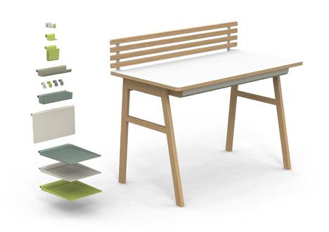 Organized Mess desk by Jun Yasumoto