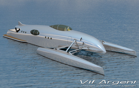 Vif Argent Concept Yacht by SVDesign