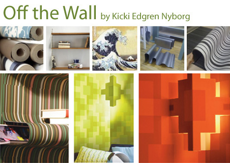 Wake-up Wall interactive wallpapers by Kicki Edgren Nyborg