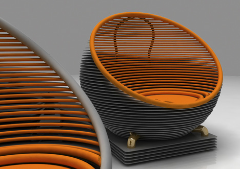 Hi-Tech Couch by Design-Gezunt Studio