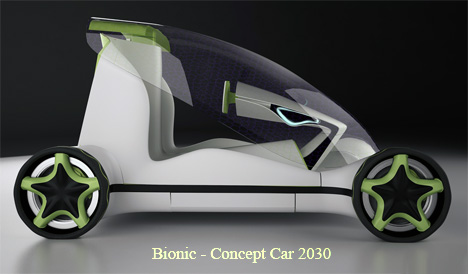 Bionic Concept Car by Vlad Icobet