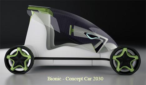 Bionic Concept Car by Vlad Icobet