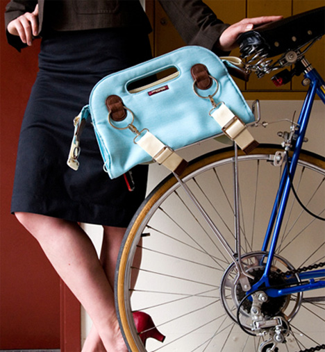 Handlebar Bag & Bike Rack Bag by Po Campo