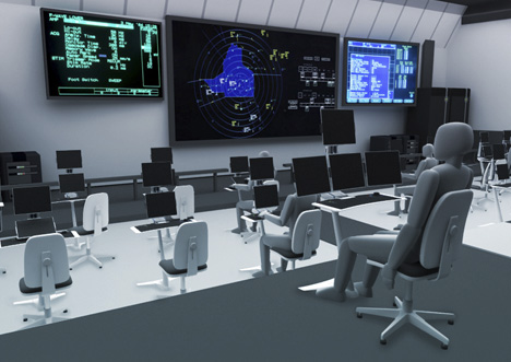 UAV Ground Control Station by Amichai Rosolio