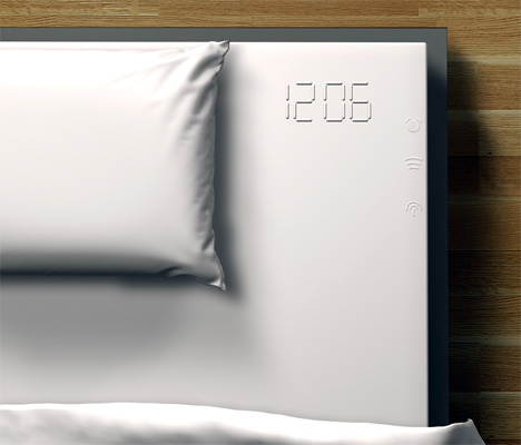 Melted Clock Radio Alarm In Bed Sheet by Florian Scharfer