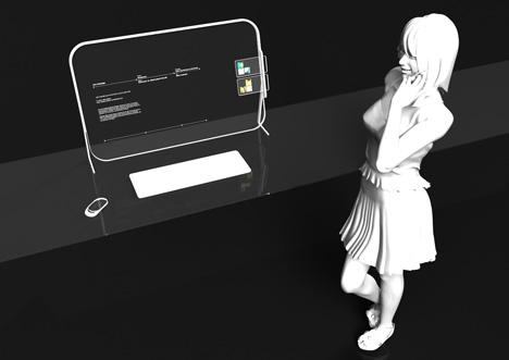 Zafiro computer and Cobalto cellphone future products by Mac Funamizu 01