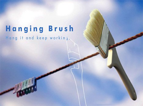 Hanging Brush by Bang Jun Mo & You In Sik