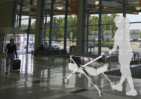 Trunk Stroller by Park Jungmin and Go Jingwon