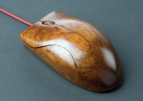 The AlestRukov wooden mouse by AlestRukov