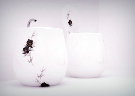Flowerpot by Andrey Bondarenko of 2-B-2 Architecture