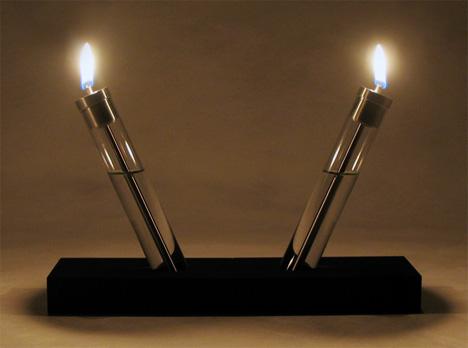 Migration Oil Lamps by Brandon Perhacs