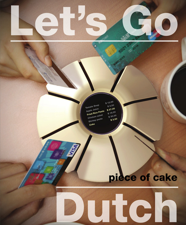 Piece of Cake - Credit Card Dutch System Calculator by Jung You Chul, Her Miran, Lee Chang Ho, Lee Kiho & Shin Youngmi