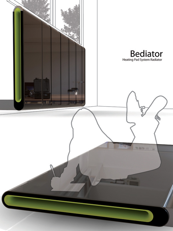 Bediator – Bed plus Radiator by Yi.Kunwoo