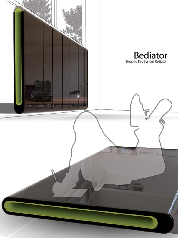 Bediator – Bed plus Radiator by Yi.Kunwoo