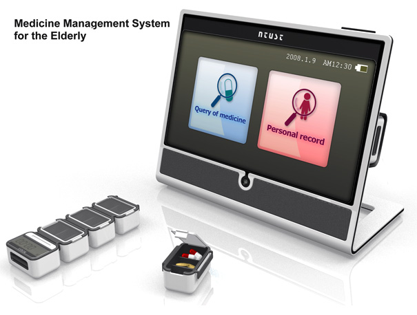 Medicine Management System for the Elderly by Ying-Chien Lin,  Yue-Hua Li,  Wei-Yin Su & Hsien-Hui Tang