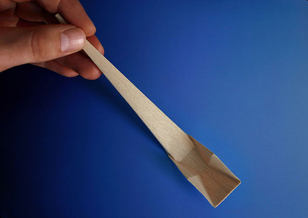 Origami Spoon by Michael Sholk