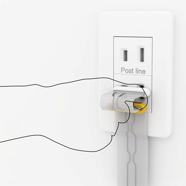 No More Trippin Wires | Yanko Design Extension Cord Wiring on