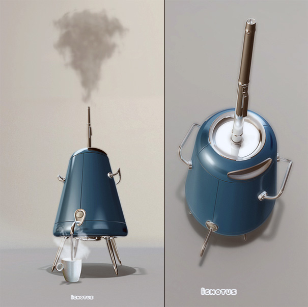 Ignotus Samovar For Tea by Aleksey Belyalov