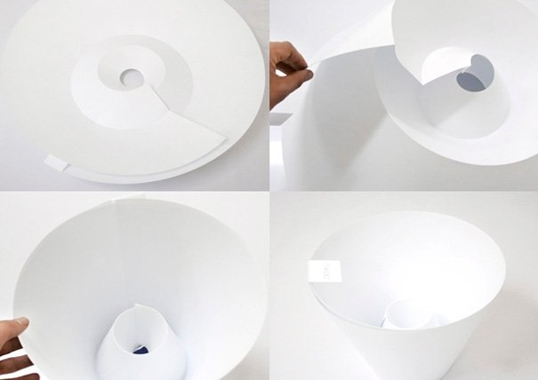 TAKOOI lampshade by Michael Sholk