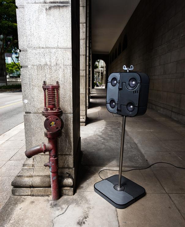 Acoustic Robot Speaker Design by TAN Lun Cheak