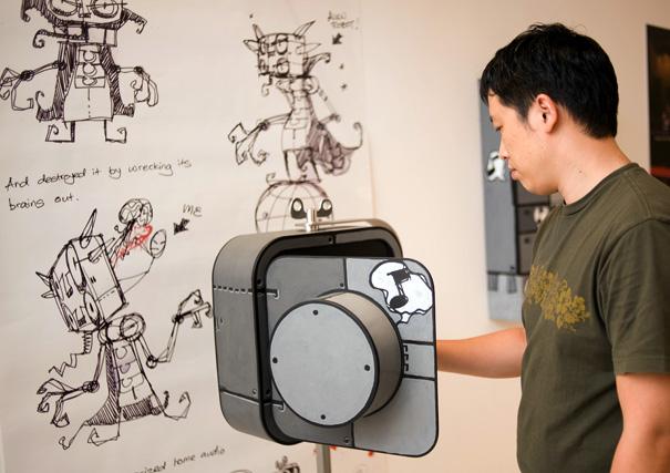 Acoustic-Robot4