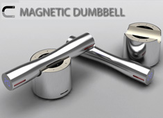 Exercising With Magnets and Dumbbells