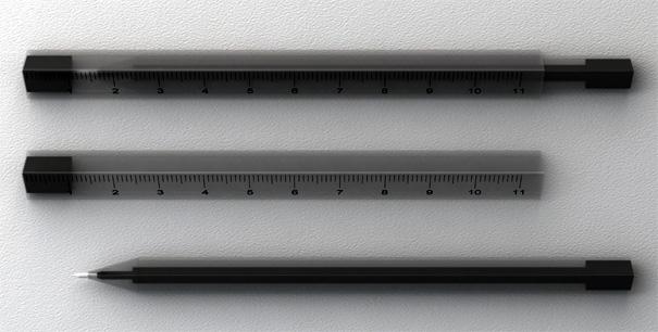Ruler Pen by ShiKai Tseng