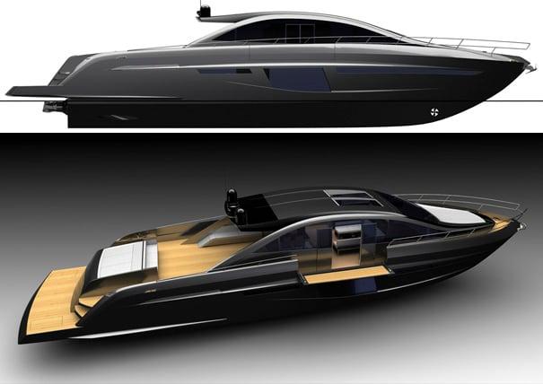 Sentori 84 open motor yacht by Motion Code Blue