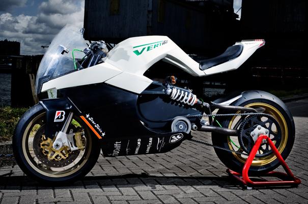 VertiGO Electrical Powered Motorcycle by Maarten Timmer