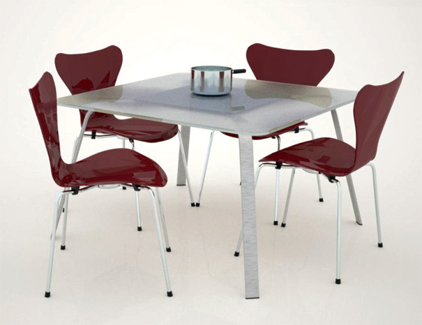 Induction Cooking Table by LDI Aramis Herrera