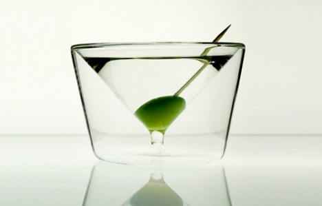 InsideOut Martini Glasses