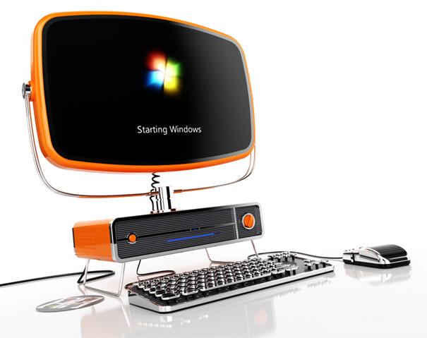 Philco PC Retro Re-design by SchultzeWORKS designstudio