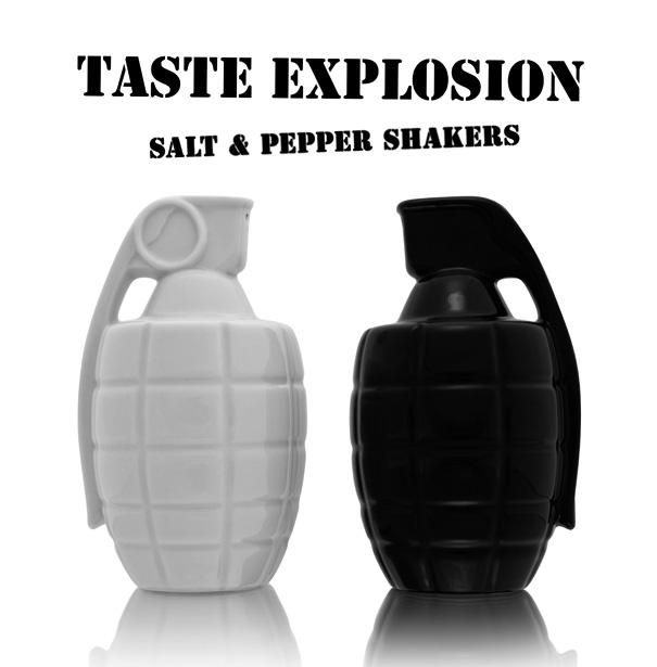 Taste Explosion Salt & Pepper Shakers By Thabto