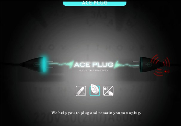 Ace Plug Eco Friendly Plug Concept by Lai You Cheng, Liu Kai Ping & Liu Chen Guang