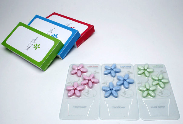 Medi Flower Medicine Repackaging by Moon Sun-Hee