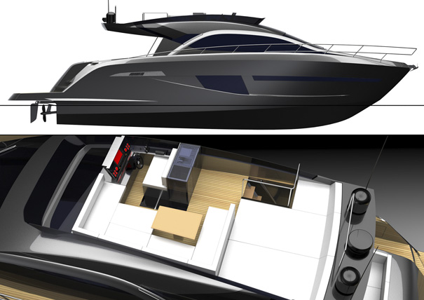 SENTORI 50 R yacht by Motion Code Blue