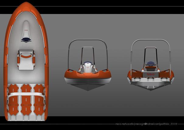 Bravo rescue jet boat by Mario Martuscello
