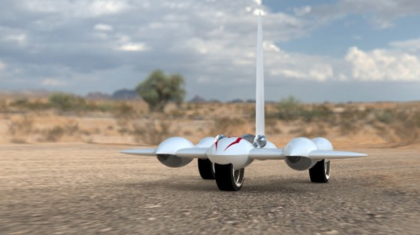 M6 Wind Powered Car by Funfere Koroye