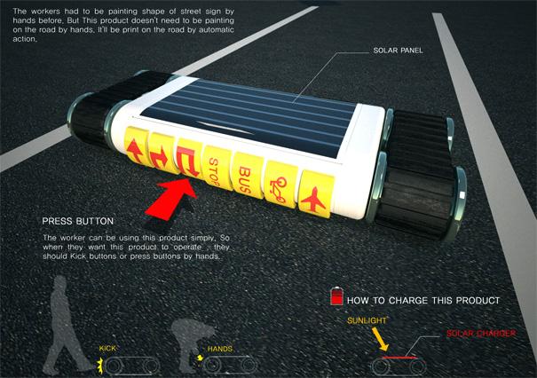 [创意] 自动敷设路面标线的马路打印机(18P) - 路人@行者 - 路人@行者