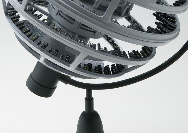 30th Century Globe by Yoo Jaechang